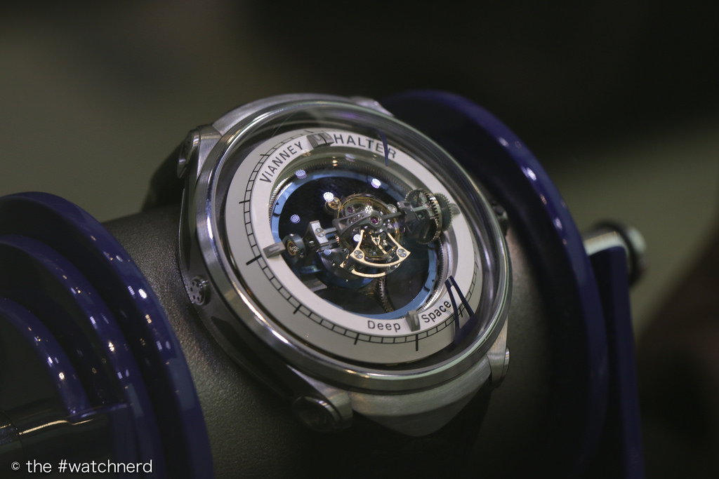 Vianney Halter's Deep Space at SalonQP 2014
