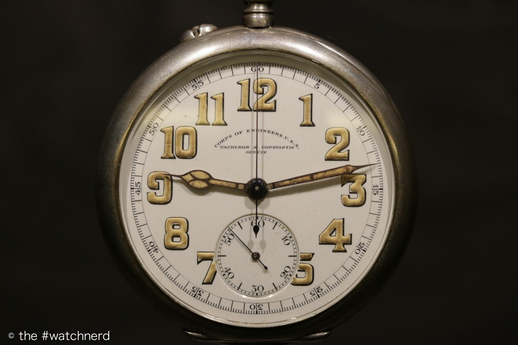 US Corps of Engineering pocket watch, 1916