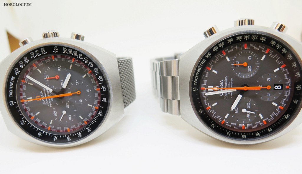 The new-look Speedmaster Mark II reissue, via @Horlogium