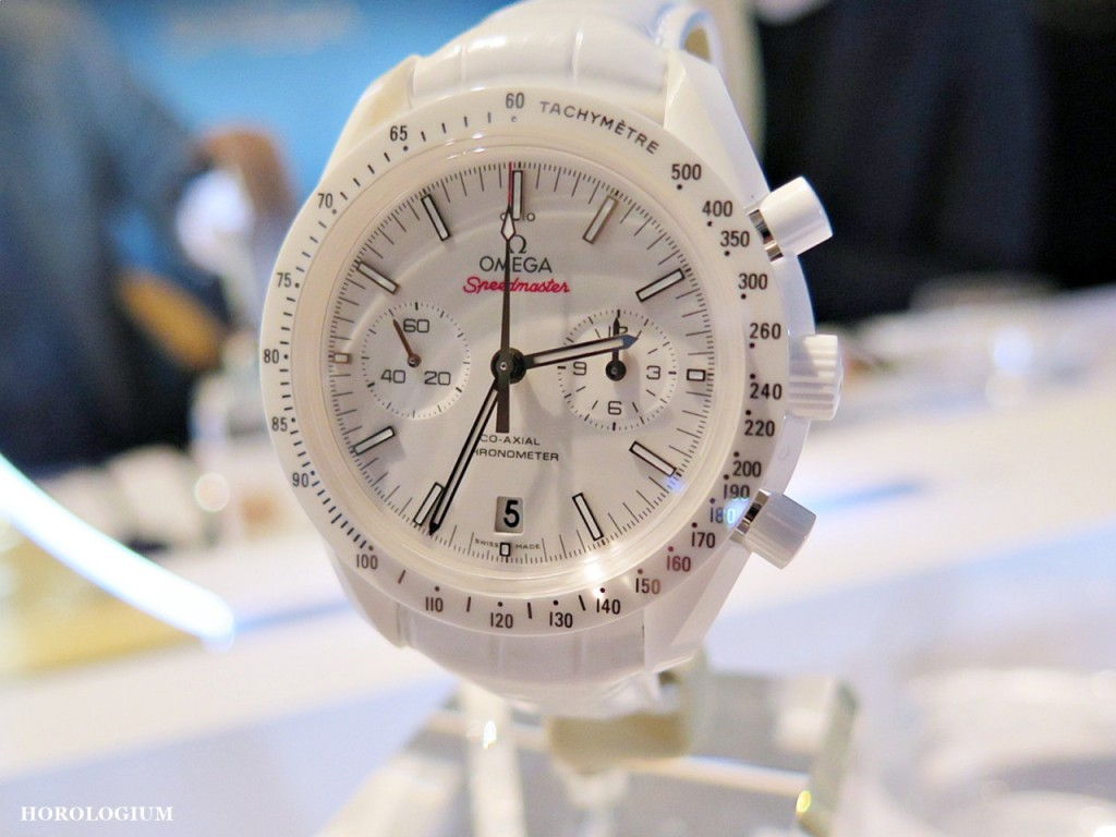 Speedmaster White Side of the Moon unveiled at Baselworld 2015 (via @Horologium)