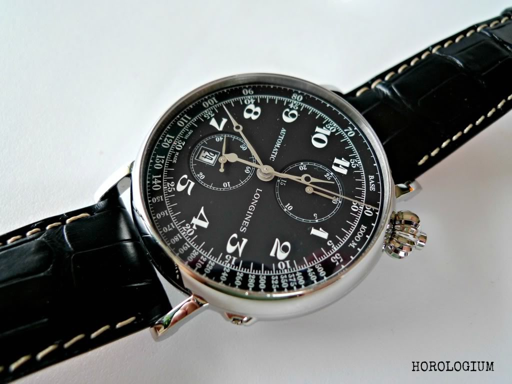 The Longines Avigation reissue / re-edition via @Horologium