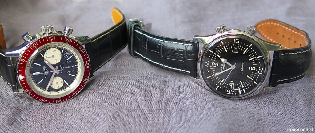 The Longines Heritage Diver 1967 reissue via @Horologium