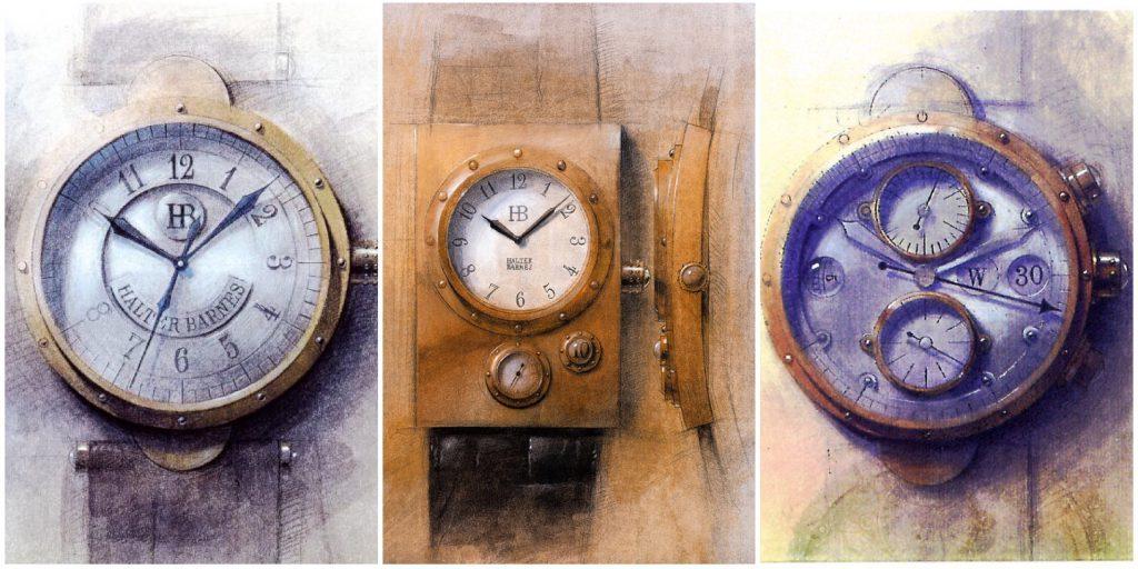 Halter Barnes designs, (C) Jeff Barnes