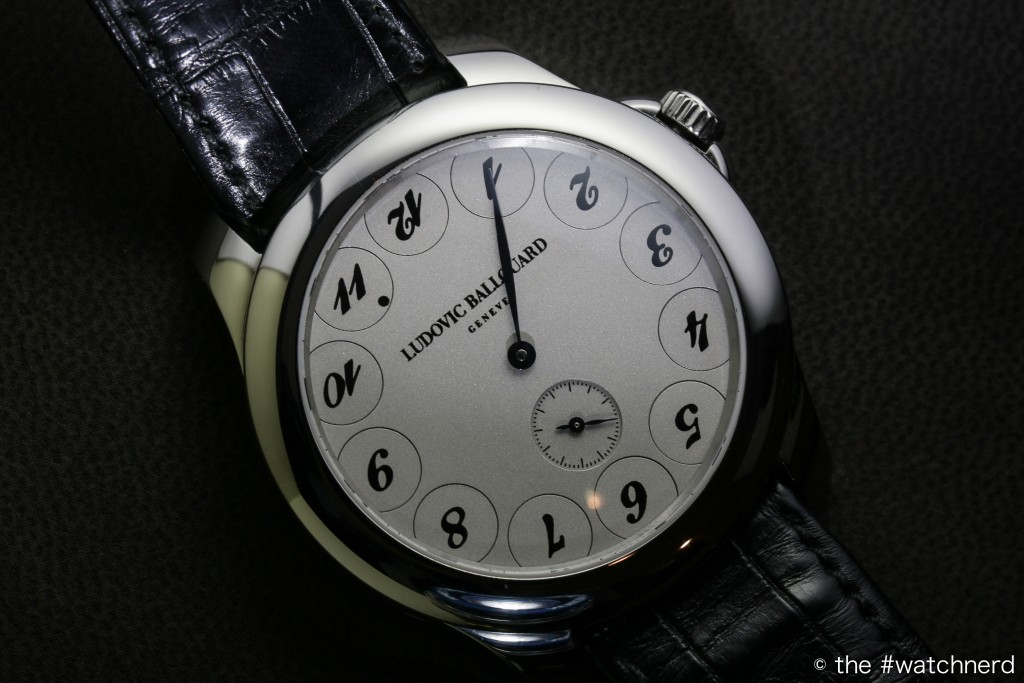 Ludovic Ballouard's Upside Down watch
