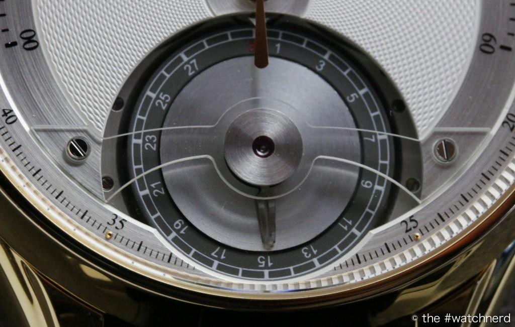 Montblanc Metamorphosis II sub-dial detail