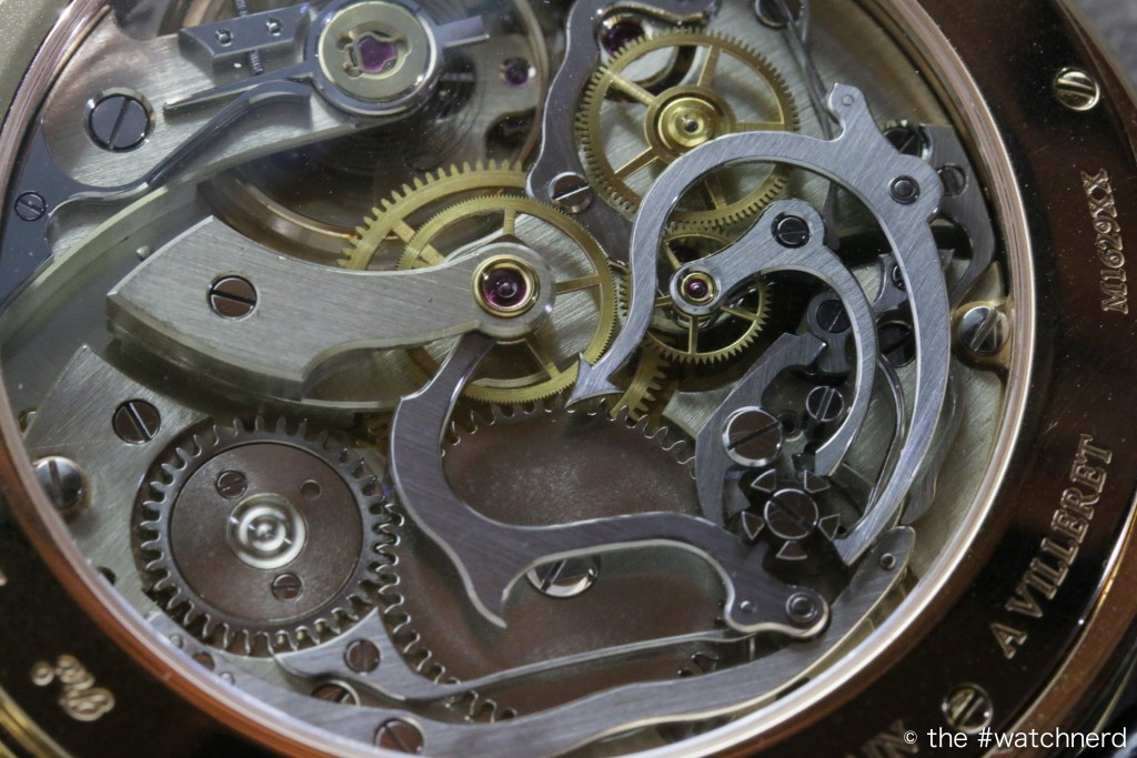 Montblanc Metamorphosis II Minerva Villeret movement