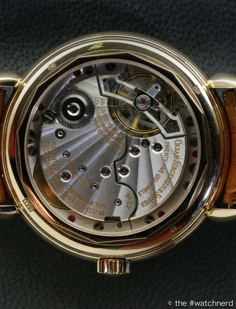 Urban Jürgensen Ref 1142C Movement