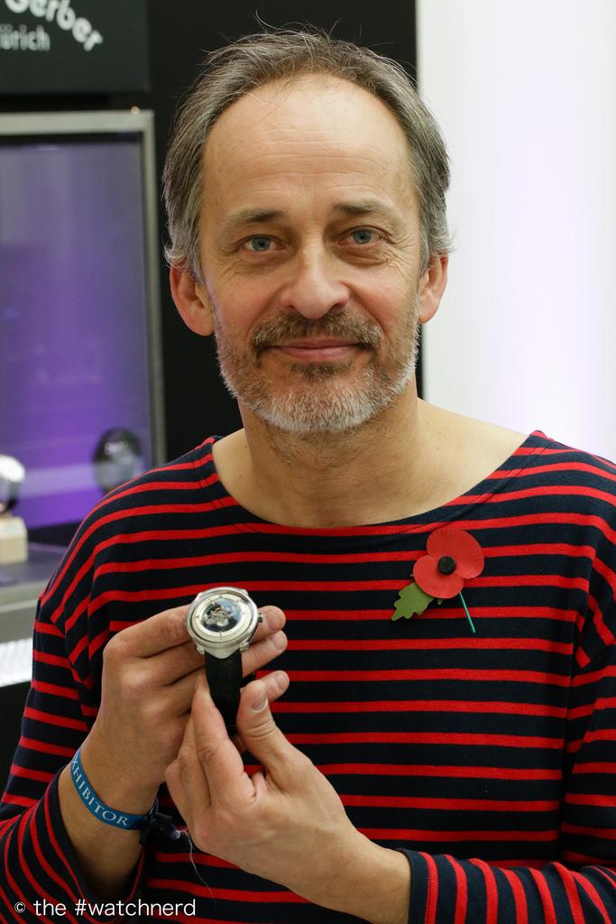 Vianney Halter at SalonQP 2014