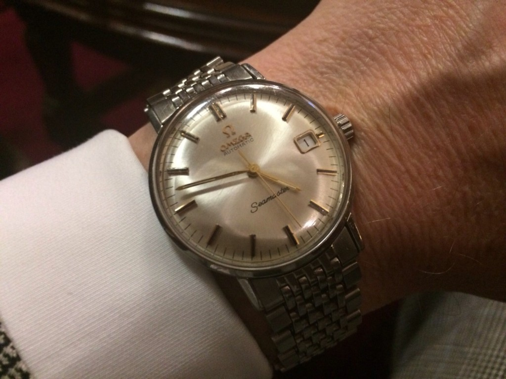 A tailor's watch: Thomas Mahon's Omega Seamaster from 1965