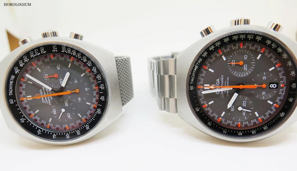 The new-look Speedmaster Mark II reissue, via @Horlogium