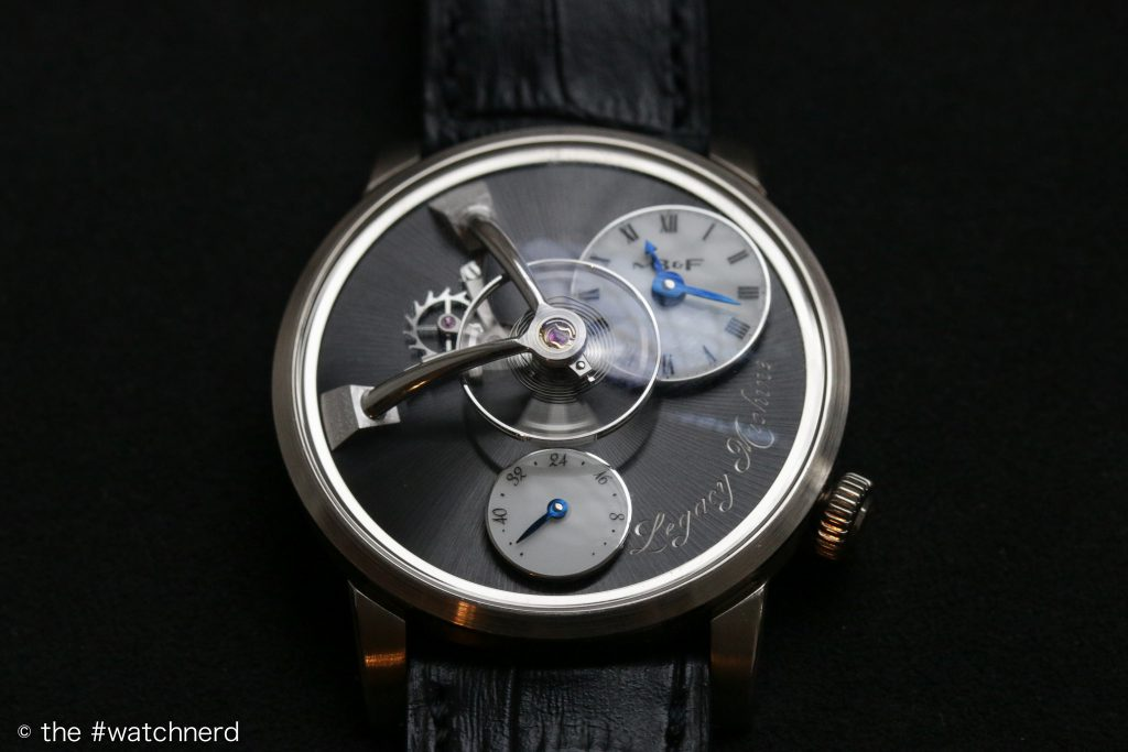 MB&F LM101 White Gold