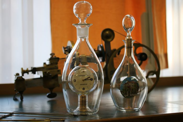 Svend Andersen's Bottle Clocks