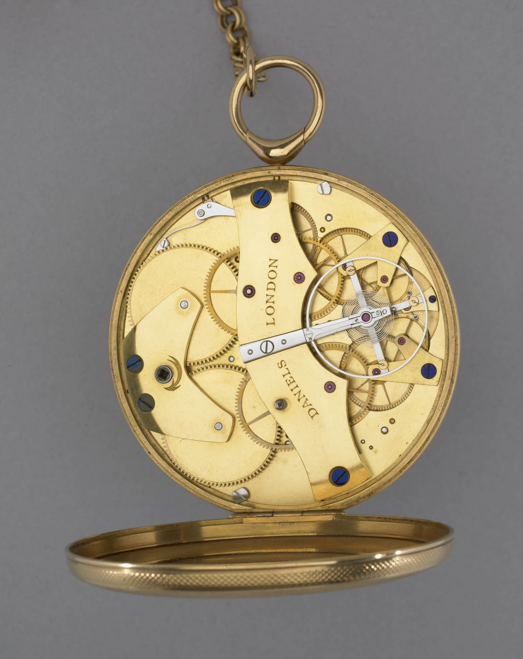 "Daniel's ""Clutton"" Pocket Watch, with Double Wheel Escapement ©Trustees of the British Museum."